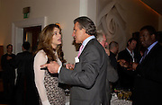 Brooke Shields and Arnaud Bamberger. Lunch party for Brooke Shields hosted by charles finch and Patrick Cox. Mortons. Berkeley Sq. 6 July 2005. ONE TIME USE ONLY - DO NOT ARCHIVE  © Copyright Photograph by Dafydd Jones 66 Stockwell Park Rd. London SW9 0DA Tel 020 7733 0108 www.dafjones.com