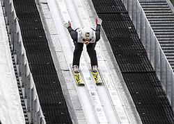 03.02.2019, Energie AG Skisprung Arena, Hinzenbach, AUT, FIS Weltcup Ski Sprung, Damen, im Bild Aleksandra Barantceva (RUS) // Aleksandra Barantceva (RUS) during the woman's Jump of FIS Ski Jumping World Cup at the Energie AG Skisprung Arena in Hinzenbach, Austria on 2019/02/03. EXPA Pictures © 2019, PhotoCredit: EXPA/ Reinhard Eisenbauer