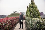 Milan, Portello gardens , the urban architect Andreas Kipar