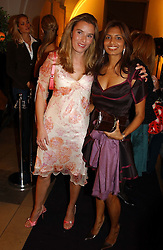 Left to right, TANA RAMSAY wife of chef Gordon Ramsay and DIVIA LALVANI<br /><br />at a party to celebrate the 10th anniversary of Jo Malone the perfumer held at The Banquetting House, Whitehall, London on 21st October 2004.<br /><br /><br /><br />NON EXCLUSIVE - WORLD RIGHTS