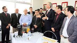 José Fortunati participa de café da manhã com o ministro do Trabalho e Emprego, Brizola Neto, e lideranças do PDT. FOTO: Luis Gonçalves / Preview.com