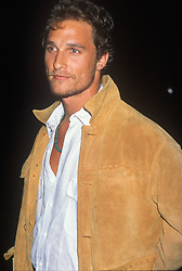 May 15, 1996; Los Angeles, CA, USA; MATTHEW MCCONAUGHEY at the 'Norma Jean & Marilyn' Premiere (Credit Image: © Kathy Hutchins/ZUMAPRESS.com)