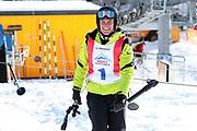 Renzo Blumenthal, Teilnehmer beim Renzo's Schneeplausch vom 23. Januar 2016 in Vella, Gemeinde Lumnezia.