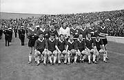 All Ireland Semi-Final, Meath v Galway.  Galway Senior Team.09.08.1970