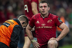 December 30, 2018 - Limerick, Ireland - Niall Scannell of Munster with a broken eyebrow during the Guinness PRO14 match between Munster Rugby and Leinster Rugby at Thomond Park in Limerick, Ireland on December 29, 2018  (Credit Image: © Andrew Surma/NurPhoto via ZUMA Press)