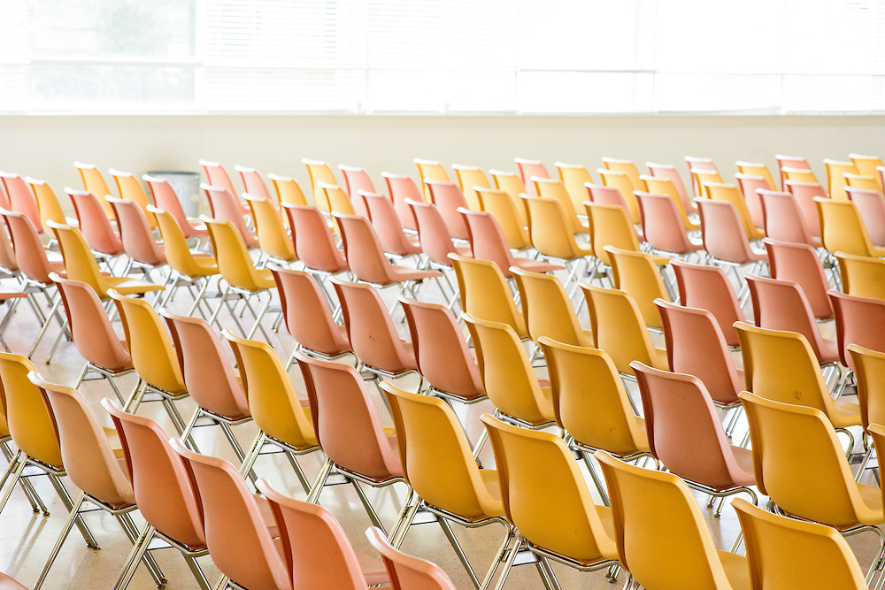Greensboro, North Carolina - September 26, 2016: <br /> Chairs<br /> <br /> CREDIT: Matt Roth