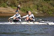 Crew: 28 - Rogers / Debois - Putney Town Rowing Club - Op MasF 2x <br /> <br /> Pairs Head 2020