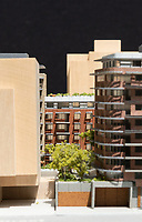 Parc Living model of residential complex in downtown Victoria, BC