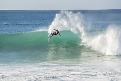 July 19, 2017 - Reigning World Champion John John Florence of Hawaii advanced to the Quarterfinals of the Corona Open J-Bay after defeating Owen Wright of Australia in Heat 2 of Round Five at pumping Supertubes, Jeffreys Bay, South Africa...Corona Open J-Bay, Eastern Cape, South Africa - 19 Jul 2017. (Credit Image: © Rex Shutterstock via ZUMA Press)