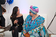 ANA GONZALEZ-HERRERA; CAMILLA BATMANGHELIDJ, Elemis 20th Anniversary in partnership with Mothers4Children charity. Party to celebrate 20 years in business and to raise money for Mothers4children and new product launches. One Marylebone. London. 2 February 2010.