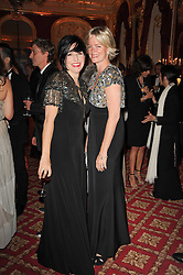 SHARLEEN SPITERI and LADY BRUCE DUNDAS at a dinner hosted by HRH Prince Robert of Luxembourg in celebration of the 75th anniversary of the acquisition of Chateau Haut-Brion by his great-grandfather Clarence Dillon held at Lancaster House, London on 10th June 2010.