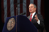 Mayor Michael Bloomberg delivers State of City Address in Staten Island