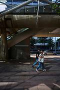 Het Beatrixkwartier in Den Haag. Moderne kantoren buurt met onder andere kantoren van Nationale-Nederlanden, MN pensioenen en het World Trade Center.   The Beatrixkwartier in The Hague. Modern offices in the neighbourhood, including the offices of Nationale-Nederlanden, MN pensions and the World Trade Center.