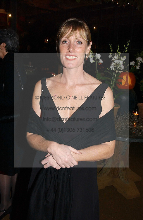 SKYE GYNGELL at a party to celebrate the publication on 'A Year in My Kitchen' by Skye Gyngell held at The Petersham Nurseries, Petesham, Surrey on 19th October 2006.<br /><br />NON EXCLUSIVE - WORLD RIGHTS