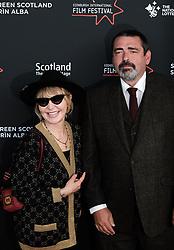 Edinburgh International Film Festival 2019<br /> <br /> Robert The Bruce (World Premiere)<br /> <br /> Pictured: Lulu and Angus Macfadyen<br /> <br /> Alex Todd | Edinburgh Elite media