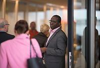 DEU, Deutschland, Germany, Berlin, 05.05.2020: Dr. Karamba Diaby (SPD) vor Beginn der Fraktionssitzung der SPD im Deutschen Bundestag.