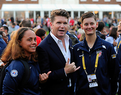 The Ambassador of the United States of America to the United Kingdom of Great Britain and Northern Ireland, Matthew W. Barzun poses for photos with the USA Team - Photo mandatory by-line: Joe Meredith/JMP - Mobile: 07966 386802 - 9/09/14 - Winfield reception for the Invictus Games - London - Winfield House