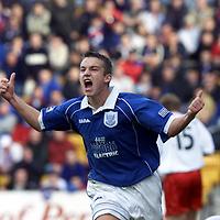 St Johnstone FC October 2000