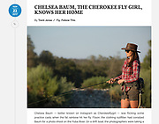 """""""Chelsea Baum, the Cherokee Fly Girl, Knows her Home"""""""
