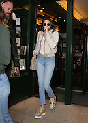 KENDALL JENNER THE LIBRARY AFTER LUNCH AT GALIGNANI ANGELINA<br /> ©Exclusivepix Media