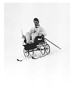 MARCH TURNBULL, Dangerous Sports Club Ski race, St. Moritz, March 1983.