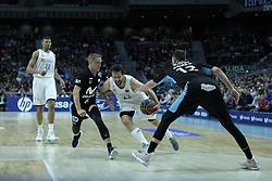 April 29, 2018 - Madrid, Madrid, Spain - SERGIO LLULL  of Real Madrid in action during a Liga Endesa Basketball game between Estudiantes and Real Madrid, at the Palacio de los Deportes, in Madrid, Spain, 29 April 2018. (Credit Image: © Oscar Gonzalez/NurPhoto via ZUMA Press)