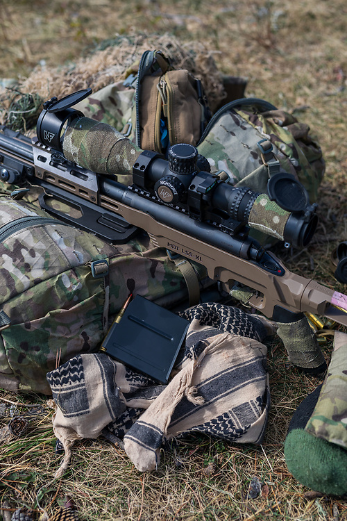 CG Strategic Sniper and Comm Pack shoot in the Ghost River Wilderness in Alberta, Canada