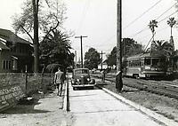 1947 Streetcar on Marshfield Way