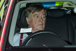 © Licensed to London News Pictures. 12/06/2017. London, UK. Conservative MP KEN CLARKE is seen arriving at parliament in a car.  Over the weekend British prime minister Theresa May formed a new cabinet and continues discussions with the DUP in an attempt to form a new government. Photo credit: Ben Cawthra/LNP