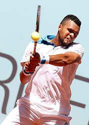 05.05.2014, Caja Magica, Madrid, ESP, ATP World Tour, Madrid Open, im Bild Jo-Wilfried Tsonga // Jo-Wilfried Tsonga during the Madrid Open of ATP World Tour at the Caja Magica in Madrid, Spain on 2014/05/05. EXPA Pictures © 2014, PhotoCredit: EXPA/ Alterphotos/ Acero<br /> <br /> *****ATTENTION - OUT of ESP, SUI*****