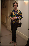 CAMILLA RUTHERFORD, The Launch of OSMAN the Collective No.3, hosted by Valeria Napoleone, Kensington. 15 May 2014.