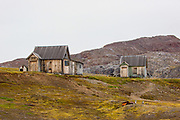 Old camp on Blomstrandøya is an island at the western side of Spitsbergen, Svalbard. It is located in Kongsfjorden, near the northern side of the fjord,