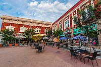 Center in the Square, Downtown Roanoke, Virginia USA.