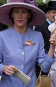 Mrs. Trevor Stewart. Royal Ascot Race meeting Ascot at York. Wednesday, 15 June 2005. ONE TIME USE ONLY - DO NOT ARCHIVE  © Copyright Photograph by Dafydd Jones 66 Stockwell Park Rd. London SW9 0DA Tel 020 7733 0108 www.dafjones.com
