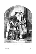 The Same Old Story Romance between a young man and woman Godey's Lady's Book and Magazine, August, 1864, Volume LXIX, (Volume 69), Philadelphia, Louis A. Godey, Sarah Josepha Hale,