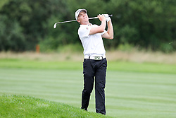 25.06.2015, Golfclub München Eichenried, Muenchen, GER, BMW International Golf Open, im Bild Amateur Max Rottluff (GER) auf dem Fairway // during the BMW International Golf Open at the Golfclub München Eichenried in Muenchen, Germany on 2015/06/25. EXPA Pictures © 2015, PhotoCredit: EXPA/ Eibner-Pressefoto/ Kolbert<br /> <br /> *****ATTENTION - OUT of GER*****