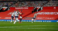 Football - 2020 / 2021 Premier League - Manchester United  vs Tottenham Hotspur - Old Trafford<br /> <br /> Harry Kane of Tottenham Hotspur scores a penalty at Old Trafford<br /> <br /> COLORSPORT/LYNNE CAMERON