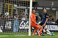 Gol Juan Cuadrado Juventus 2-2 Goal celebration <br /> Milano 28-04-2018 Stadio Giuseppe Meazza in San Siro Football Calcio Serie A 2017/2018 Inter - Juventus Foto Andrea Staccioli / Insidefoto
