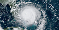 September 2, 2019, Bahamas: An image made available by the National Oceanic and Atmospheric Administration shows Hurricane Dorian over the Bahamas, approaching Florida Monday. The Category 5 hurricane made landfall in the Bahamas and has caused 'unprecedented' devastation, according to the Prime Minister. (Credit Image: © NOAA/ZUMA Wire/ZUMAPRESS.com)