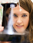 27/11/2016 REPRO FREE:  Claire Lillis, Aerogen with an Aspirator,  inNUI Galway as part of the Galway Science & Technology Festival.<br /> Photo: Andrew Downes, Xposure.