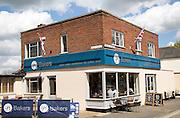 Bakers shop and cafe Framlingham, Suffolk, England, UK