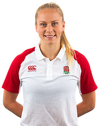 Emma Uren of England Rugby 7s - Mandatory by-line: Robbie Stephenson/JMP - 17/09/2019 - RUGBY - The Lansbury - London, England - England Rugby 7s Headshots
