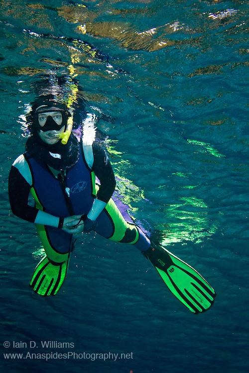 Snorkeller - Milne Bay, PNG