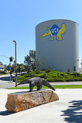 Anteater Statue and Water Tower at the University of California Irvine
