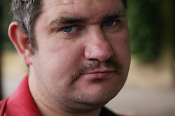 Portrait of a man; Community Care Project user,