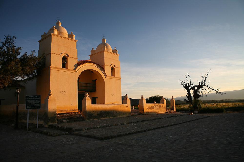 Molinos Church, Salta province, Argentina