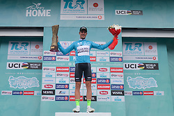 October 14, 2018 - Istanbul, Turkey - Eduard Prades Reverter of Spain and Euskadi Basque Country-Murias - the Winner of the 54th Presidential Cycling Tour of Turkey 2018. .On Sunday, October 14, 2018, in Istanbul, Turkey. (Credit Image: © Artur Widak/NurPhoto via ZUMA Press)