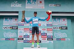 October 14, 2018 - Istanbul, Turkey - Eduard Prades Reverter of Spain and Euskadi Basque Country-Murias - the Winner of the 54th Presidential Cycling Tour of Turkey 2018. .On Sunday, October 14, 2018, in Istanbul, Turkey. (Credit Image: © Artur Widak/NurPhoto via ZUMA Press)