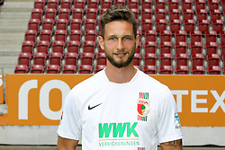 08.07.2015, WWK Arena, Augsburg, GER, 1. FBL, FC Augsburg, Fototermin, im Bild Tim Matavz #23 (FC Augsburg) // during the official Team and Portrait Photoshoot of German Bundesliga Club FC Augsburg at the WWK Arena in Augsburg, Germany on 2015/07/08. EXPA Pictures © 2015, PhotoCredit: EXPA/ Eibner-Pressefoto/ Kolbert<br /> <br /> *****ATTENTION - OUT of GER*****