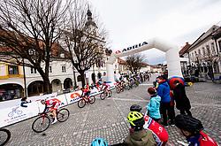 Peloton in Novo mesto during cycling race 6th Grand Prix Adria Mobil 2021, on March 28, 2021, in Novo mesto, Slovenia. Photo by Vid Ponikvar / Sportida